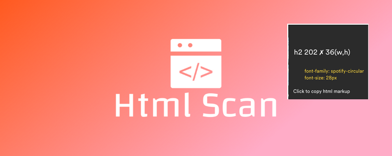 Html Scan: Inspect and Copy HTML or Text