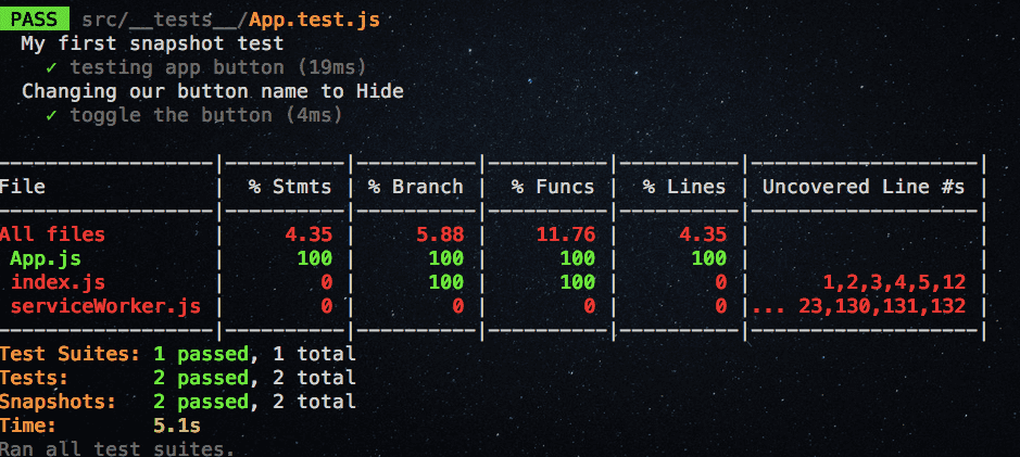 code-coverage-react-jest