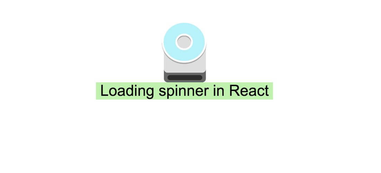 How to display loading spinner while dom is rendering in React