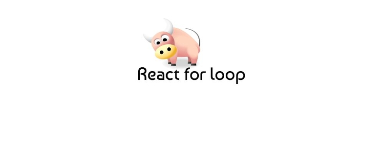 React for loop to render elements