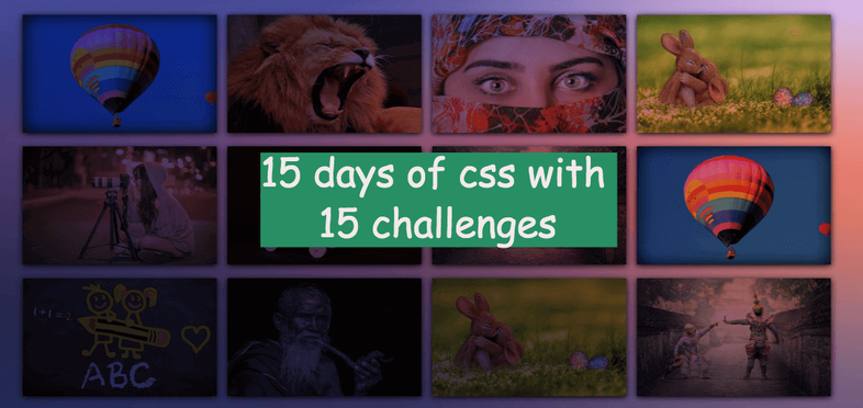 15 days of css with 15 challenges
