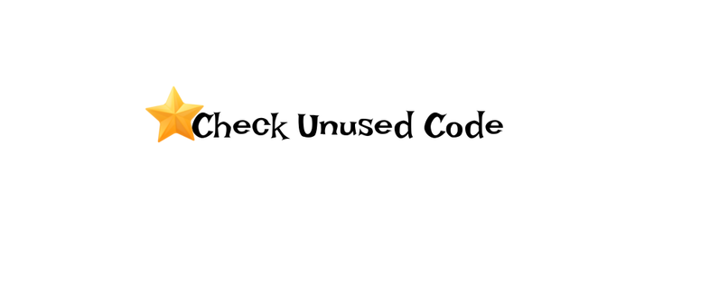 How to check the Unused Code on your Pages