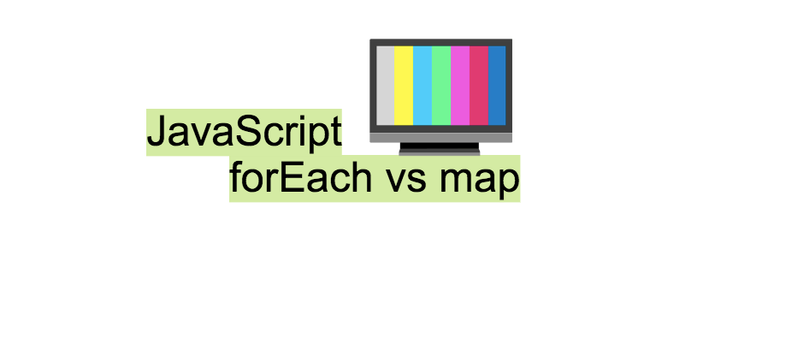Difference between forEach and map methods in JavaScript