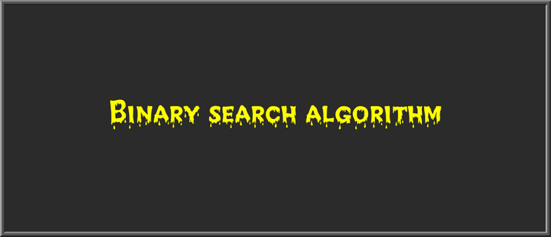 How to implement a Binary search algorithm in JavaScript