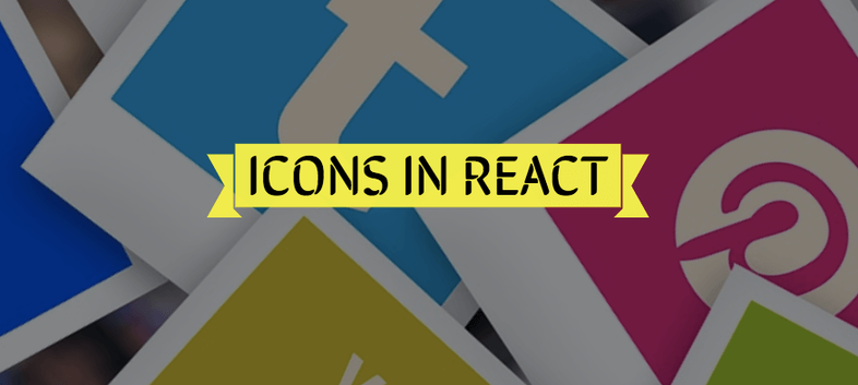 How to use (Font Awesome, Material Design) Icons in React