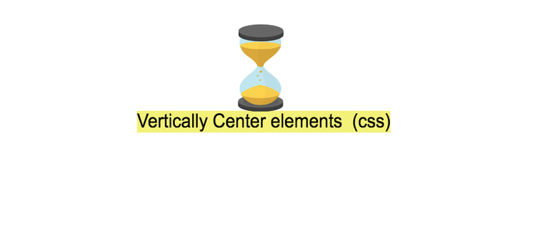 How to vertically center an element (Css)