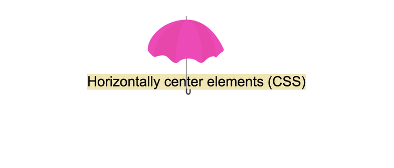 How to horizontally center elements (div) in Css