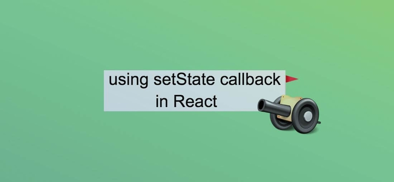How to use the callback in react setState