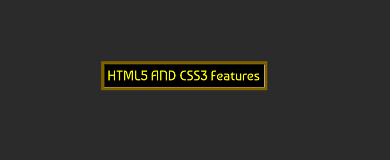 Unknown features of  HTML5 and CSS3👌 👌